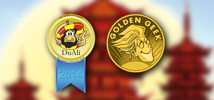 DuAli 2014 und Golden Geek Award 2014 Nominierung
