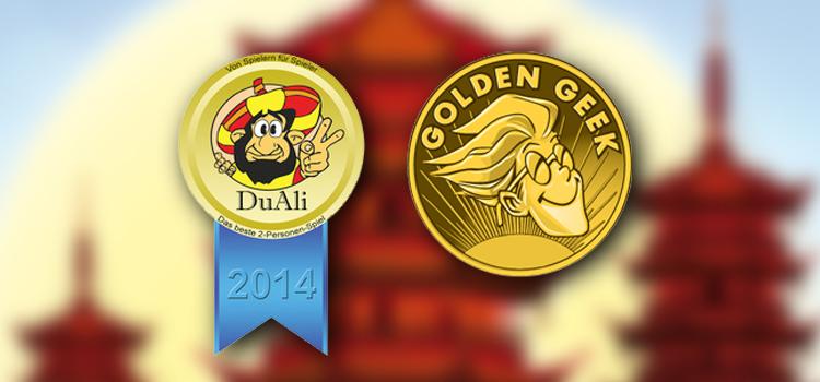 DuAli 2014 und Golden Geek Award 2014 Nominierung